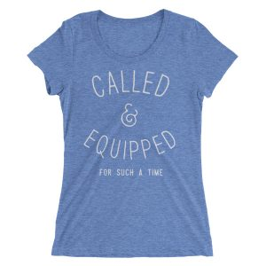 Called & Equipped Ladies' short sleeve t-shirt