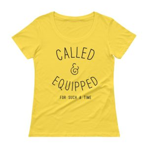 CALLED & EQUIPPED Ladies' Scoopneck T-Shirt